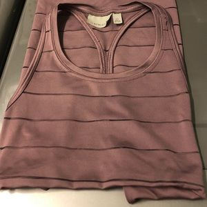 Athleta dark mauve Razorback tank